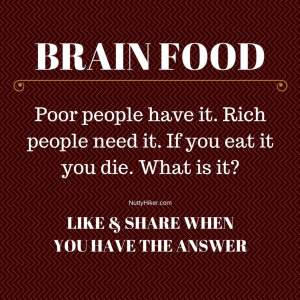 Brain Food Tuesday Riddle April 26,2016