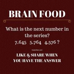 Brain Food Tuesday May 31 2016