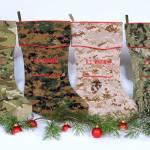 Camosock - Military Theme Christmas Stockings