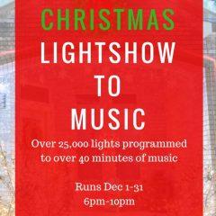 2016 Christmas Light Show to Music   Harker Heights / Fort Hood, Texas
