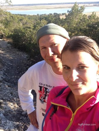 Hiking at Dana Peak Park near Harker Heights Texas and Fort Hood Texas