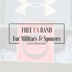 Free UA Band For Military & Spouses