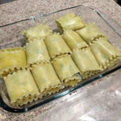 Easy Lasagna Roll Up's
