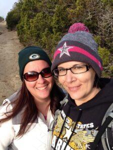 Hiking with Teresa at Dana Peak Park