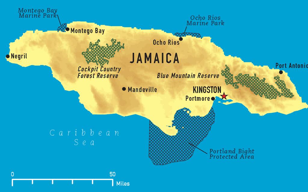 JamaicaMap