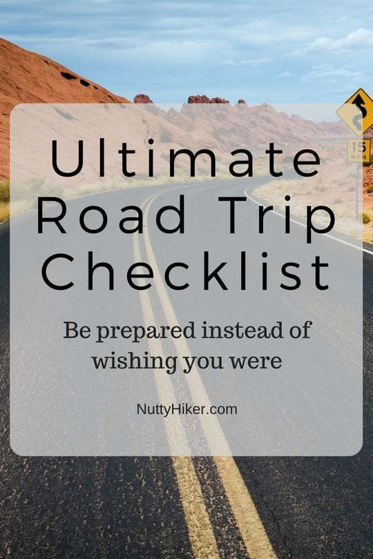 The ultimate road trip checklist!
