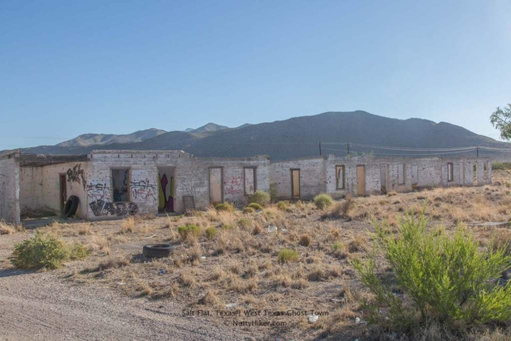 Salt Flat, Texas a West Texas Ghost Town just miles from the Guadalupe Mountains National Park and 90 miles east of El Paso.