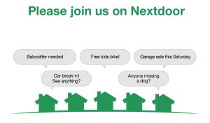 Join your nextdoor community