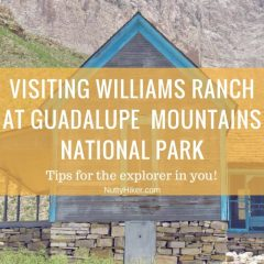 Williams Ranch   Guadalupe Mountains Nat'l Park