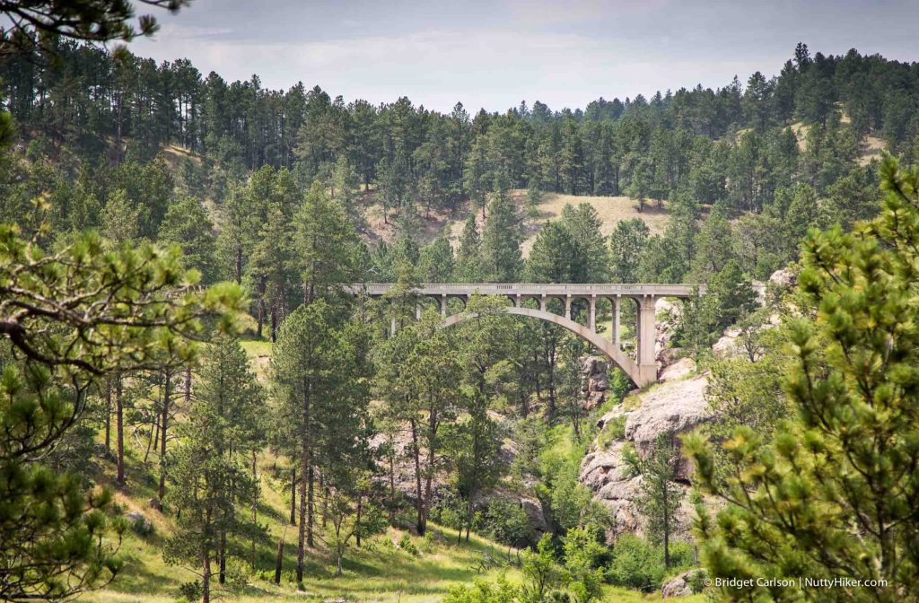 Beaver Creek Bridge in Wind Cave National Park, South Dakota