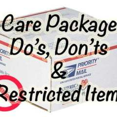 Care Package Do's, Don'ts & Restricted Items