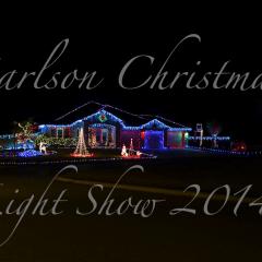 2014 Christmas Light Show