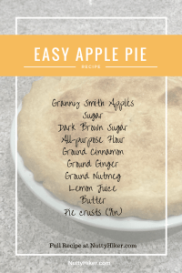 Easy Apple Pie Recipe. Taste just like grandma use to make, except with less fuss!