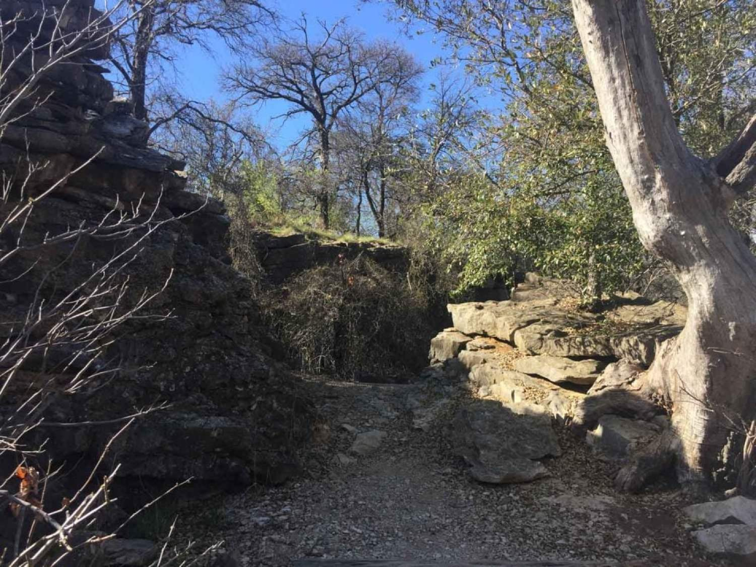 Fort Richardson State Park Lost Creek Nature Trail