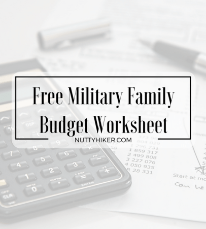 free budget worksheet make your money work for you nutty hiker