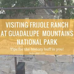 Frijole Ranch at Guadalupe Mountains National Park | Step Back In Time