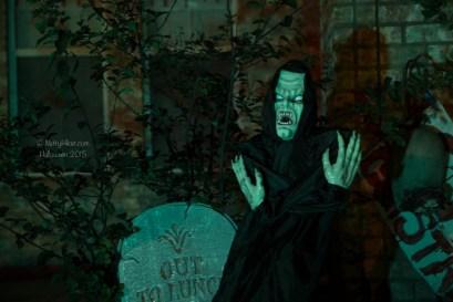 Haunted Halloween Graveyard