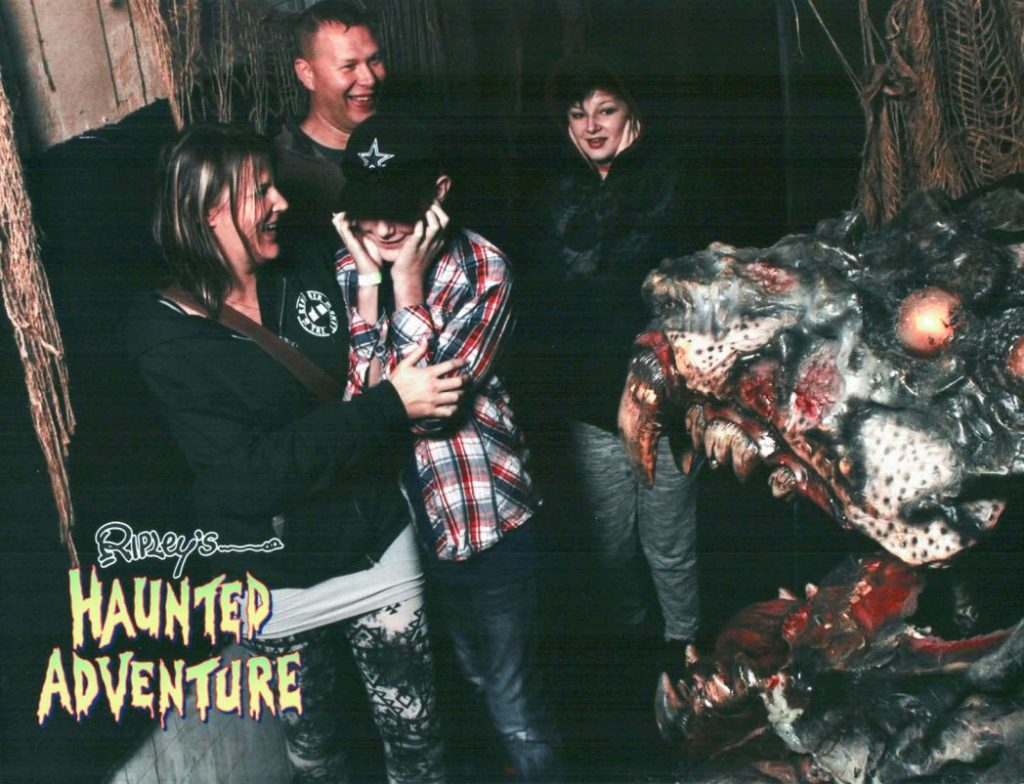 Ripley's Haunted Adventure in San Antonio. Haunted house open year round!