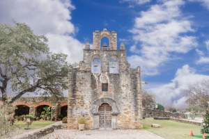 Mission Espada in San Antonio Texas