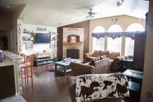 New Family Room layout