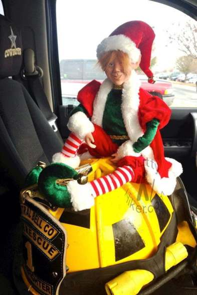 Rocky the naughty elf. Adult version of elf on the shelf