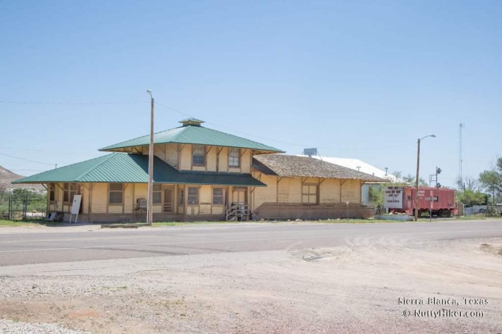 Sierra Blanca Railroad Depot Museum