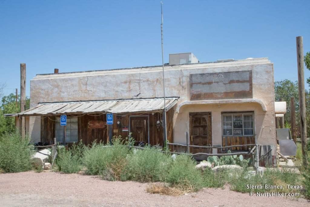 Old Sierra Blanca Cafe