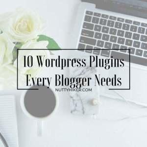 10 WordPress Plugins Every Blogger Needs