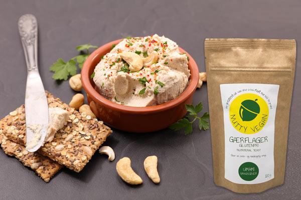 gærflager nutritional yeast til vegansk ost Nutty Vegan