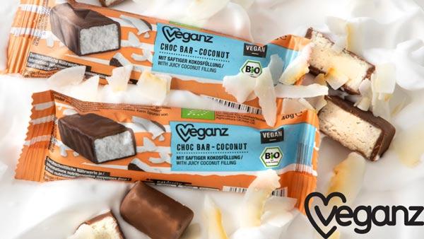 vegansk bounty køb - veganz coconut choc bar