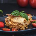 vegansk lasagne opskrift med soya fars