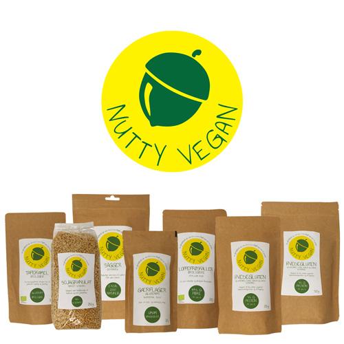 veganske produkter - Nutty Vegan webshop