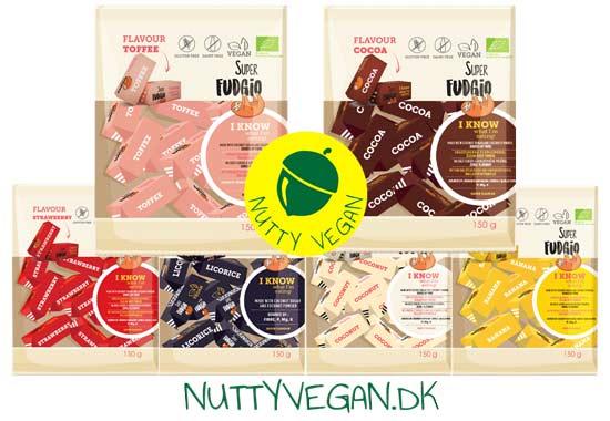 Veganske karameller køb online - super fudgio karameller
