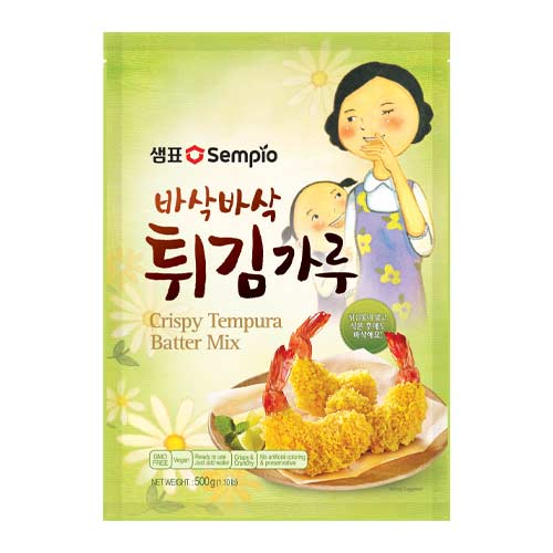 vegansk tempuradej - køb tempuradej mix