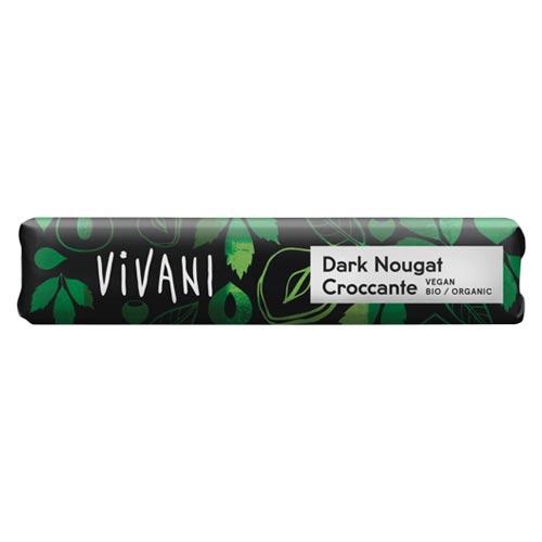vegansk chokolade - vivani vegan dark nougat
