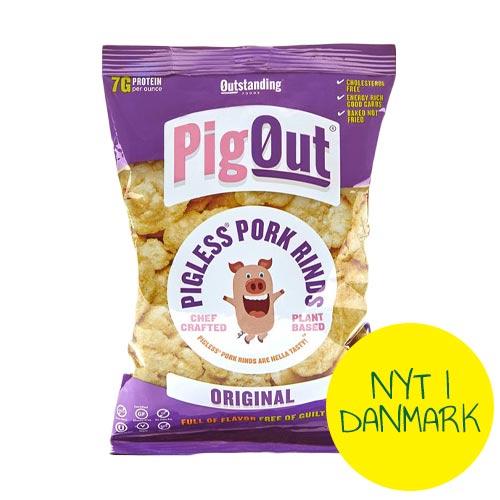 vegansk flæskesvær - pigout danmark - veganske chips