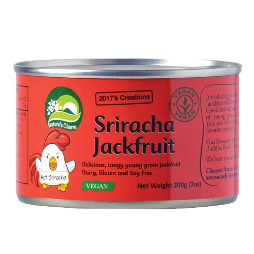 marineret jackfruit - vegansk kød - natures charm