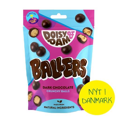 veganske maltesers - vegansk slik - doisy & dam ballers-