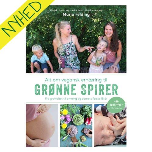 grønne spirer bog - vegansk bog til gravide og nye mødre