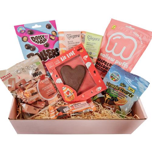 vegansk gavekurv - gave til veganer - sweets for my sweet