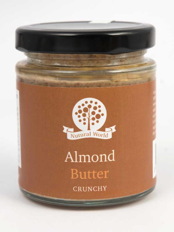 Almond Butter Crunchy 170gr