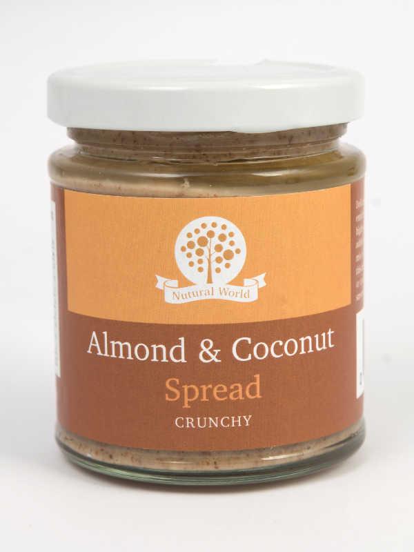 Almond and Coconut Spread Crunchy 170gr