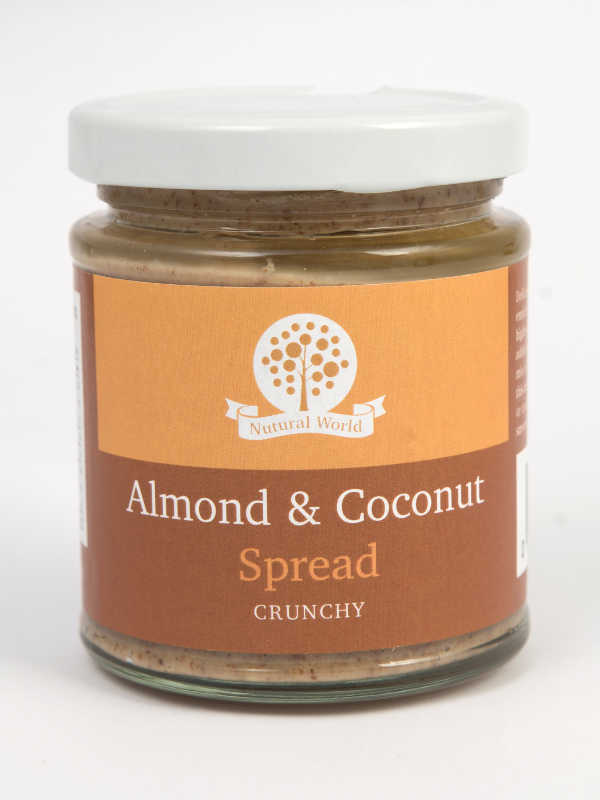 Almond and Coconut Spread Crunchy 170gr