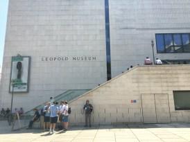 サブ会場となっていたレオポルド美術館