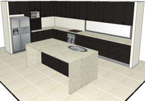 3D cabinet design Calgary