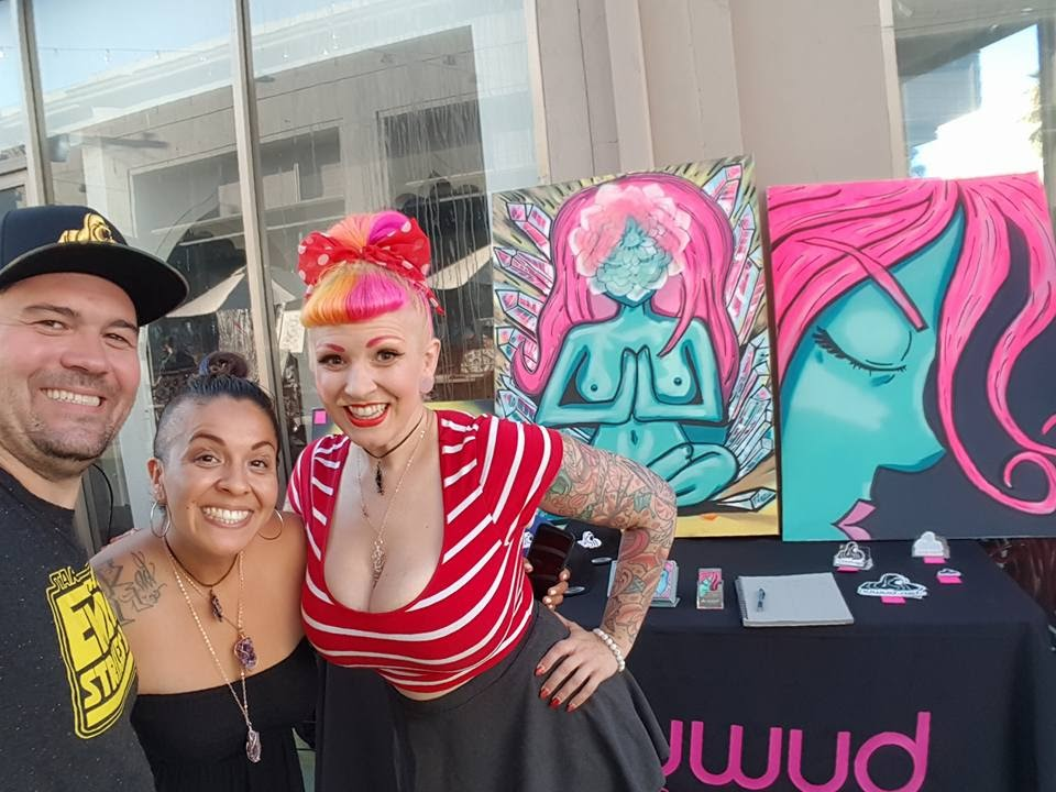 Jaime_Xanthia_Pink_Patrick_Wood_North_Hollywood_Artwalk
