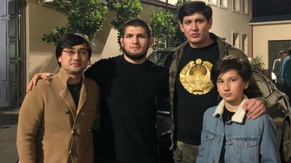 Хабиб Нурмагомедов посетил Ташкент и поблагодарил зятьев Шавката Мирзиёева за гостеприимство