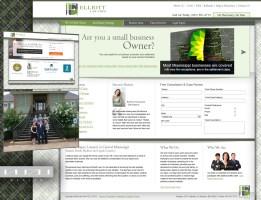 Elliott Law Firm web design & Internet Marketing project