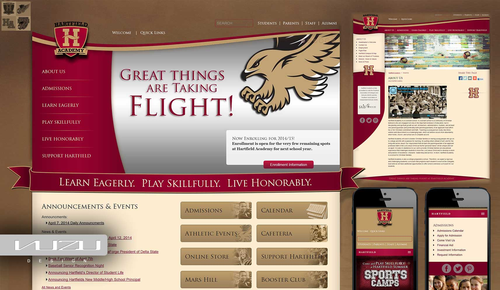 Website Design for schools