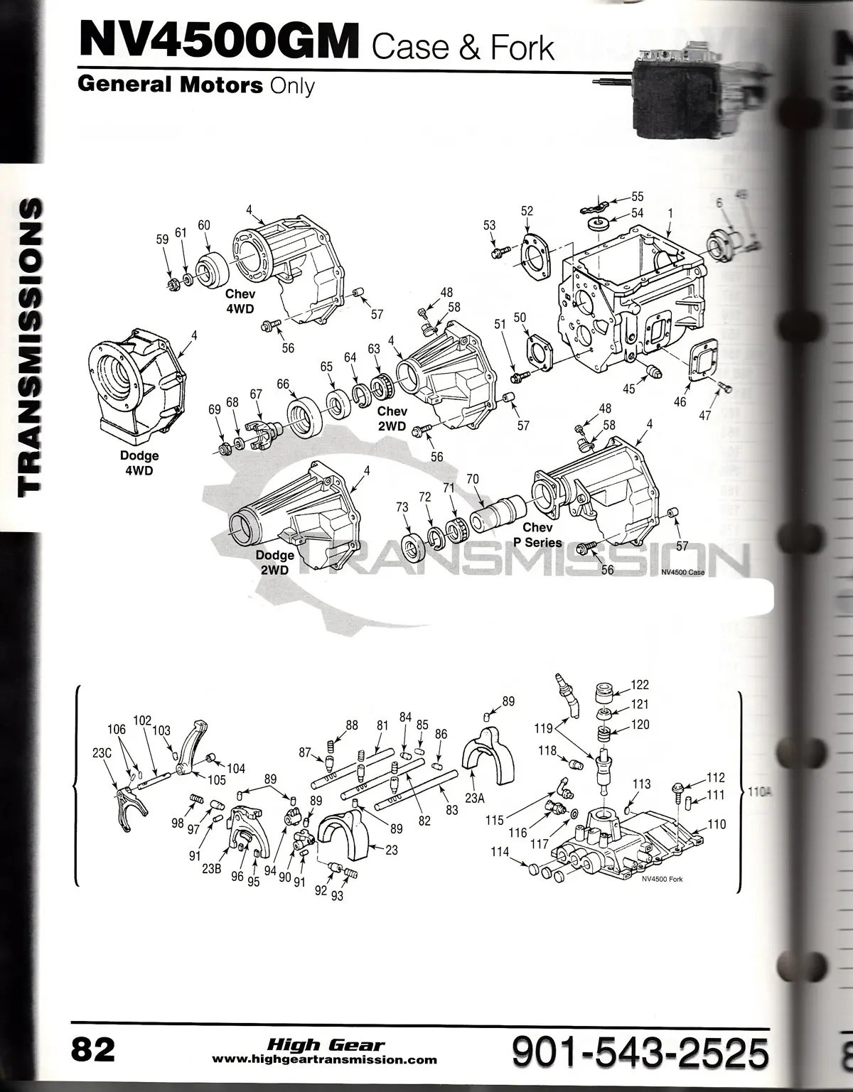 nv-4500 diagrams - nv4500 chevy and dodge tranmission parts  nv-4500 transmission